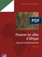 Financer Villes Afrique