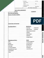 Generic Cardiac Rehabilitation Assessment
