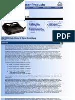 IBM 4059 Style OptraS Toner Summit Web