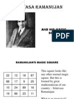 Ramanujam's Magic square
