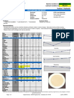 oil analisys sample