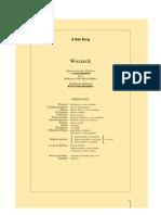 Wozzeck Libretto