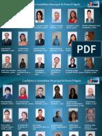Candidatos do PSD/Açores à Assembleia Municipal de Ponta Delgada