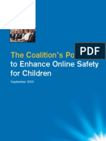Coalition 2013 Election Policy – Enhance Online Safety - final