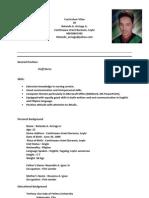 Curriculum Vitae[1] Arciaga