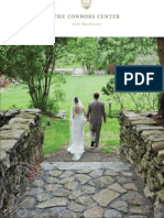 Connors Center Wedding Brochure