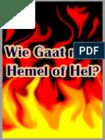 Wie gaat naar HEMEL of HEL? (Gods Voorzienigheid) - Leechburch