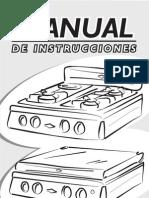 Manual Estufas de Mesa