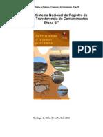 Sistema Nacional de Registro de Emisiones y Transferencias