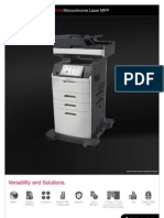 Midshire Business Systems - Lexmark XM5100 - Monochrome Laser MFP Brochure