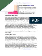Régime Thonon PDF