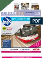 Lutonline - Issue 138, September 2013