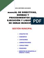 Manual de Obras 2004 Muni