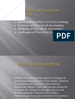 Presentation on Price-Level Accounting