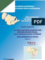 VOLUME15 Sistema Aquifero Guarani SP MS PR