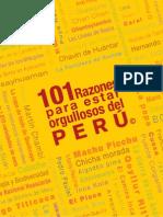 101 Razones Para Estar Orgullosos Del Peru - NO COPYRIGHT INFRINGEMENT INTENDED