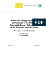 Renewable Energy Projections - 2020