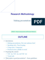 Ppt on Reseach Methods