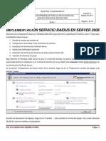 Implementacion Servicio Raidus en Server 2008