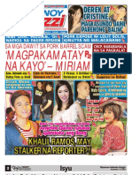 Pinoy Parazzi Vol 6 Issue 112 September 6 - 8, 2013