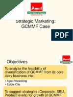Strategic Marketing Amul