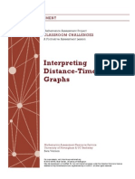 distance-time graphs complete