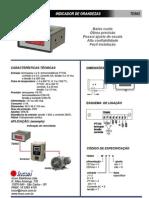 Incon - Indicador de Grandezas - Td502 - Catalago