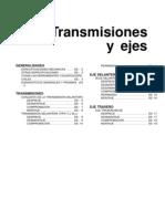 Transmisiones y Ejes