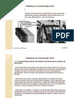 4 - Madeiras na Construção Civil