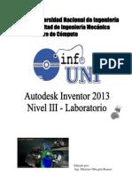 Manual Inventor 2013 - Nivel 3 - Laboratorio