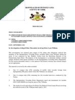 Press Release Decision