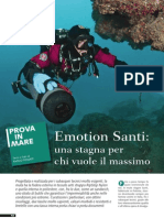 Test Muta Stagna Santi Emotion - Rivista SUB