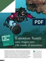 Test Muta Stagna Santi Emotion - Rivista SUB