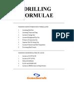 Drilling Formulas