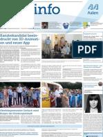 Stadtinfo Aalen - KW 33 - 2013