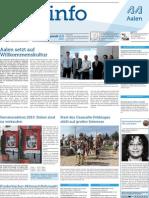 Stadtinfo Aalen - KW 34 - 2013