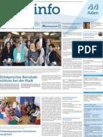 Stadtinfo Aalen - KW 35 - 2013