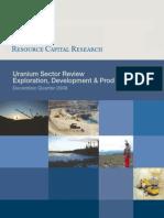 Uranium Sector Review Exploration, Development & Production December Quarter