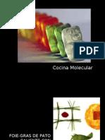 Presentación Cocina Molecular