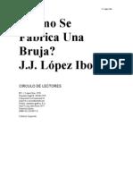 LOPEZ IBOR JJ - Como Se Fabrica Una Bruja