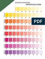Mezclador Cromatico Pantone