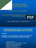 1.ASPECTOS TECNICOS BASICOS DEL DISE�O DE ALCANTARILLADOS