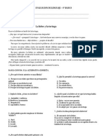 Evaluacion de Lenguaje Unidad 5