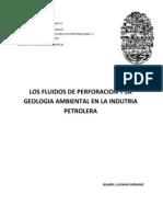 Fluidos de Perforacion y la Geología Ambiental