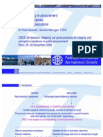 OECD 2006 Transparency in Procurement Ppt