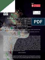 """Bando del 1° Concorso Internazionale """"Arte Medicina Creatività"""" a Vidracco - Ottobre 2013"""
