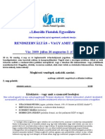 LIFE_nyári egyetem program 2009