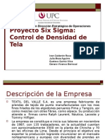 Trabajo Final Six Sigma