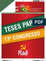Teses 13º Congresso PCdoB