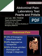 Abdominal Pain labs